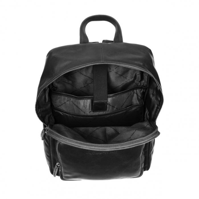 Rucsac pentru laptop, The Chesterfield Brand, din piele naturala, Ari, Negru [1]