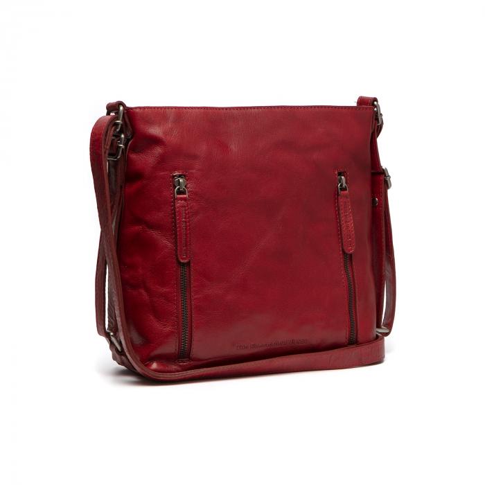Rucsac si geanta 2 in 1, din piele naturala, The Chesterfield Brand, Naples, Rosu [0]