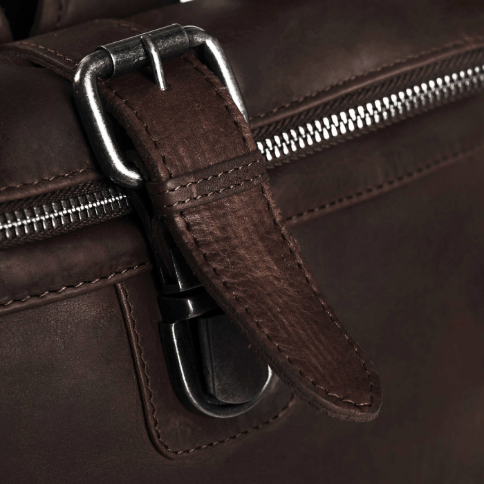Rucsac The Chesterfield Brand din piele moale maro, Dali [4]