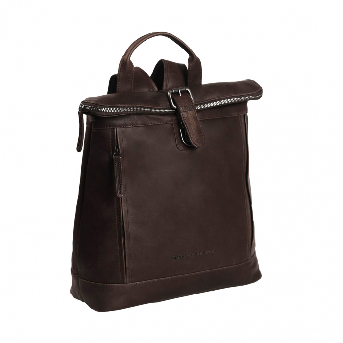 Rucsac The Chesterfield Brand din piele moale maro, Dali [0]