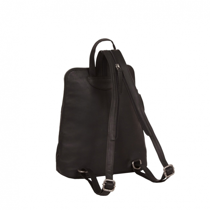 Rucsac The Chesterfield Brand din piele moale, Vivian, Maro inchis [3]