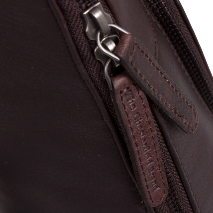 Rucsac The Chesterfield Brand din piele moale, Vivian, Maro inchis [1]