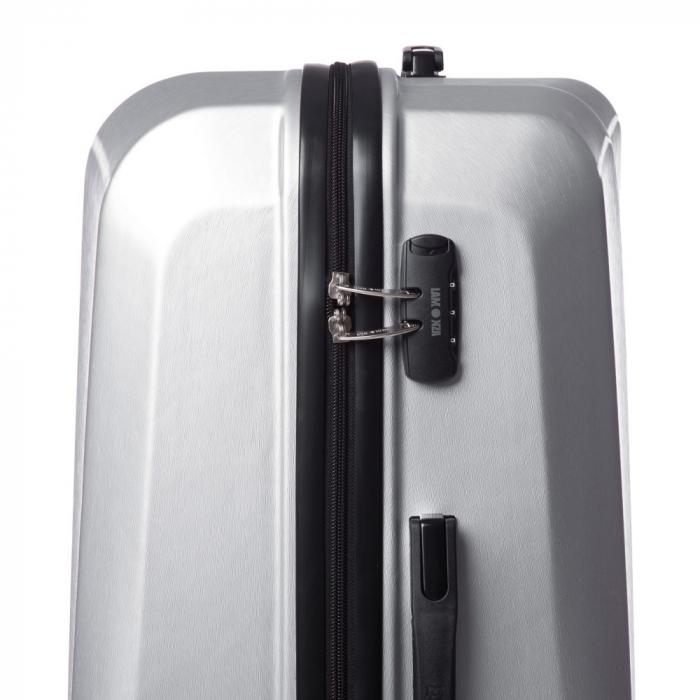 Troler mare SWANK argintiu 76 cm [2]
