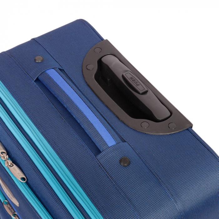 Troler mare VISION albastru cu turcoaz 74 cm [2]