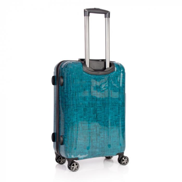 Troler mediu  REGAL albastru turcoaz 66 cm [1]