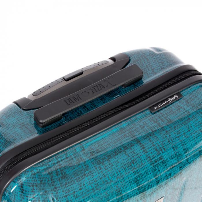 Troler mediu  REGAL albastru turcoaz 66 cm [2]