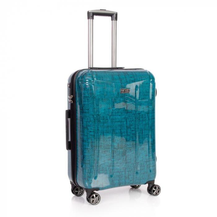Troler mediu  REGAL albastru turcoaz 66 cm [0]
