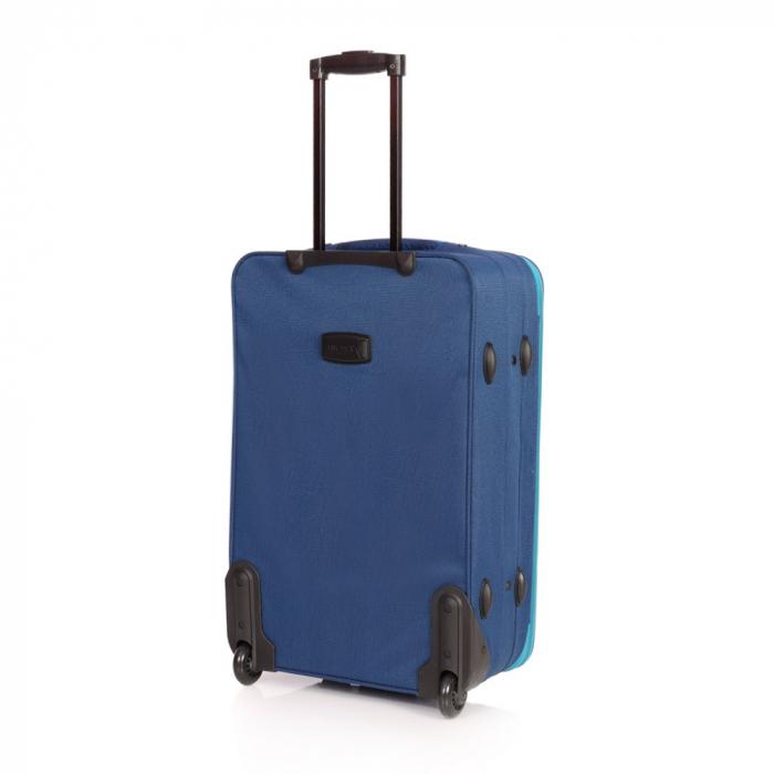 Troler mediu VISION albastru cu turcoaz 64 cm [1]