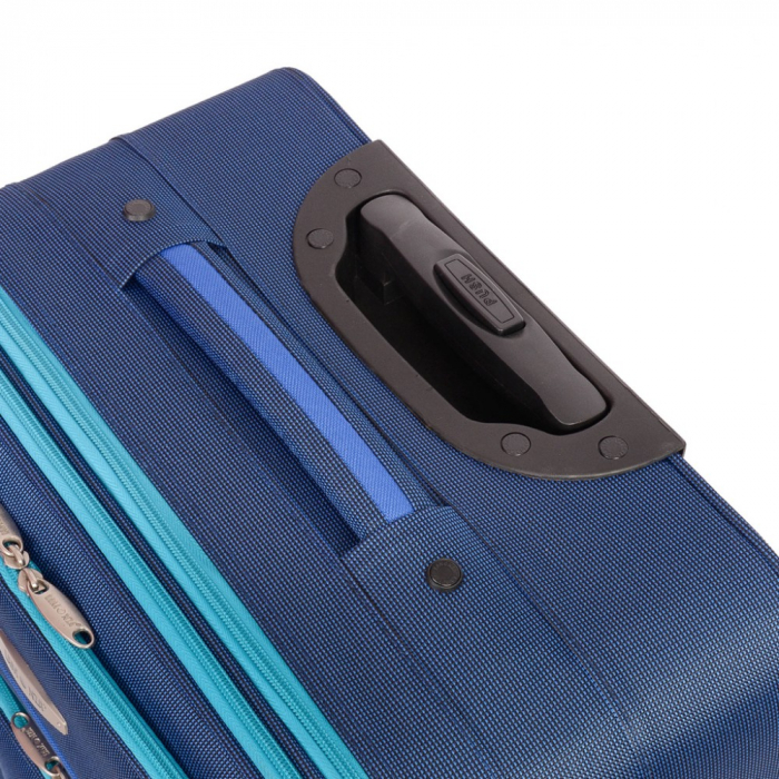 Troler mediu VISION albastru cu turcoaz 64 cm [2]