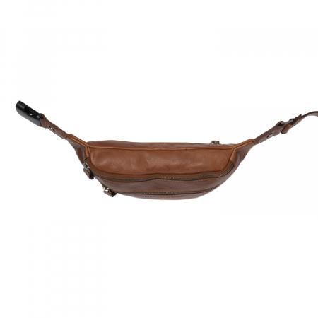 Borseta (marsupiu) de brau, unisex The Chesterfield Brand, piele naturala, Paxton, Maro coniac [3]