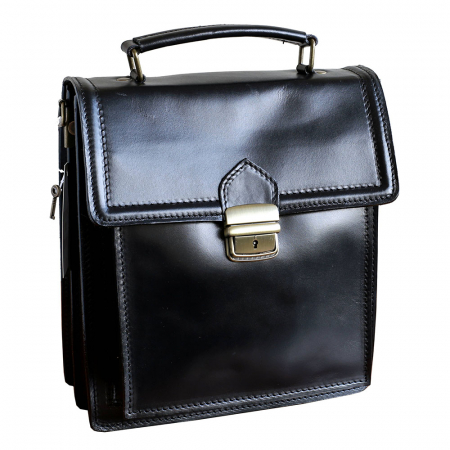 Borseta office din piele neagra model B102 [0]