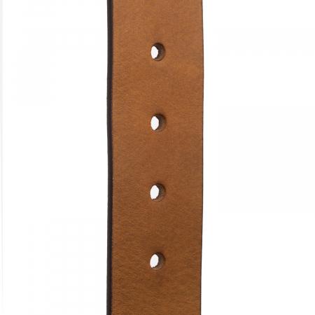 Curea The Chesterfield Brand din piele maro coniac, pentru blugi, Allendale [1]