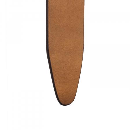 Curea The Chesterfield Brand din piele maro coniac, pentru blugi, Allendale [2]