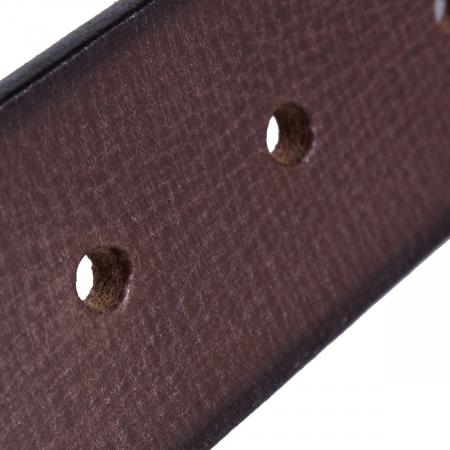 Curea The Chesterfield Brand din piele maro, pentru blugi, Aayden [3]