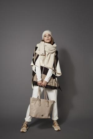 Geanta dama Bugatti Passione Shopper taupe [1]