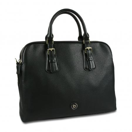 Geanta dama business Bugatti Passione negru0