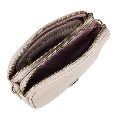 Geanta dama crossbody Passione taupe, Bugatti [5]