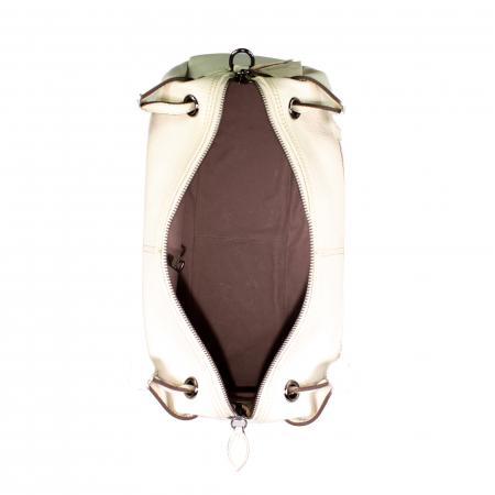 Geanta de dama din piele naturala, Reform, de mana si umar model 1143, Bej [4]