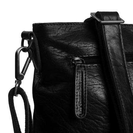 Geanta de dama din piele naturala, The Chesterfield Brand, Annic, de mana si umar, Negru [3]