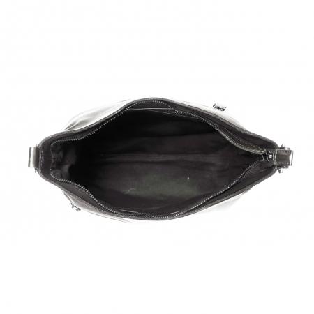 Geanta de dama din piele naturala, The Chesterfield Brand, Giulia, de mana si umar, Negru [1]