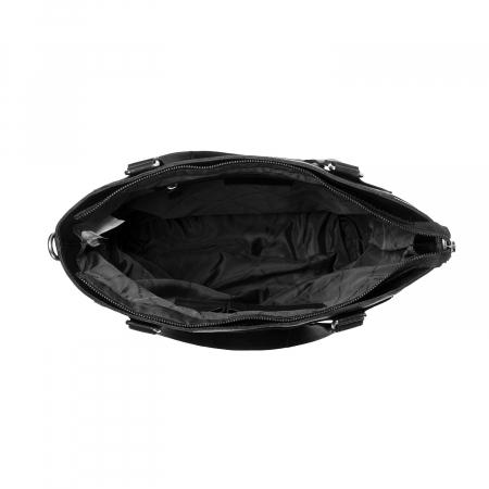 Geanta de dama din piele naturala, The Chesterfield Brand, Jade, Negru [2]