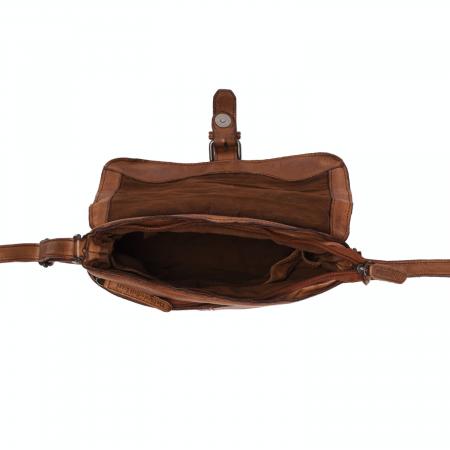 Geanta de dama din piele naturala, The Chesterfield Brand, Liv, Maro coniac [2]