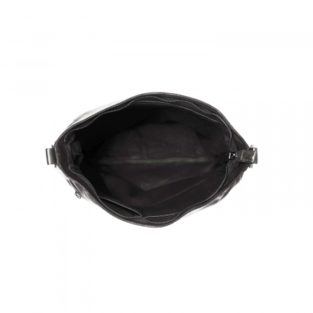 Geanta de dama din piele naturala, The Chesterfield Brand, Mae, de mana si umar, Negru [2]