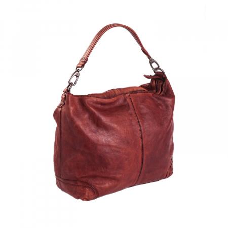 Geanta de dama piele naturala, The Chesterfield Brand, Abby, Visiniu [5]