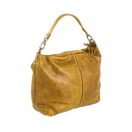 Geanta de dama piele naturala, The Chesterfield Brand, Abby, Galben ocru [5]