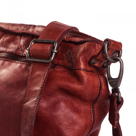 Geanta de dama piele naturala, The Chesterfield Brand, Abby, Visiniu [4]