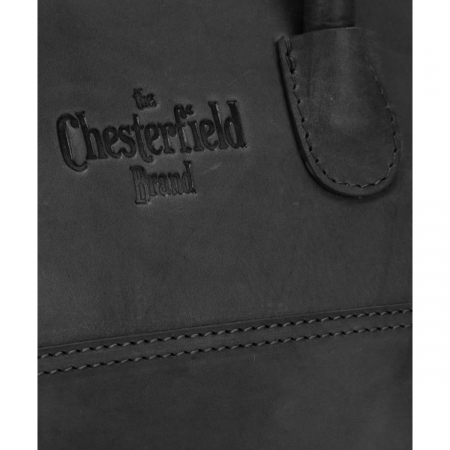 Geanta de dama, The Chesterfield Brand, piele naturala, Alexa, Negru [5]