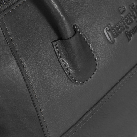 Geanta de dama, The Chesterfield Brand, piele naturala, Alexa, Negru [3]