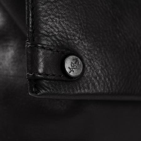 Geanta de dama, The Chesterfield Brand, piele naturala neagra de mana si umar, Melody [3]
