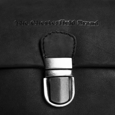 Geanta de dama, The Chesterfield Brand, din piele naturala, de mana si umar, Rianne, Negru [6]