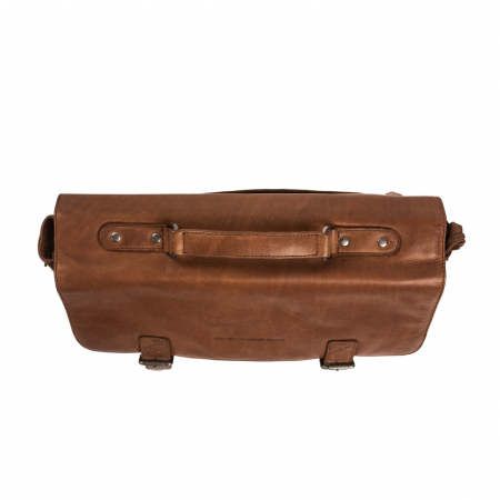 Geanta de laptop din piele naturala, The Chesterfield Brand, Belfast 15.6 inch, Maro coniac [4]