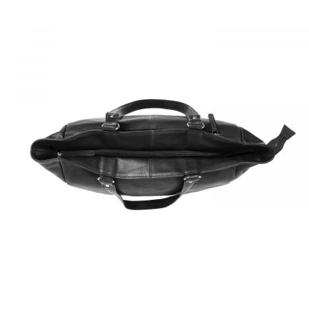 Geanta de laptop din piele naturala, The Chesterfield Brand, Berlin 15.4 inch, Negru [3]
