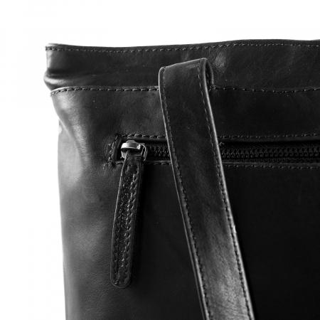 Geanta de laptop din piele naturala, The Chesterfield Brand, Bonn 14 inch, Negru [4]
