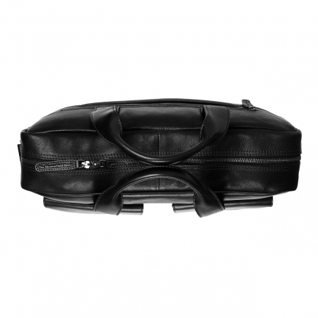 Geanta de laptop din piele naturala, The Chesterfield Brand, Ethan 15.6 inch, Negru [3]