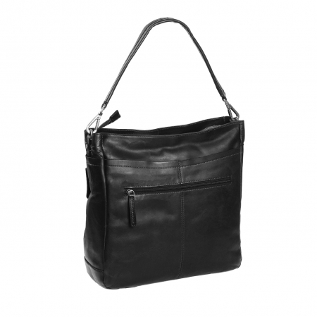 Geanta de laptop din piele naturala, The Chesterfield Brand, Lizzy 13 inch, Negru [4]