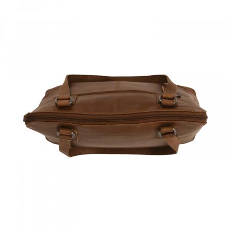 Geanta de laptop din piele naturala, The Chesterfield Brand, Manon, 14 inch, Negru [12]