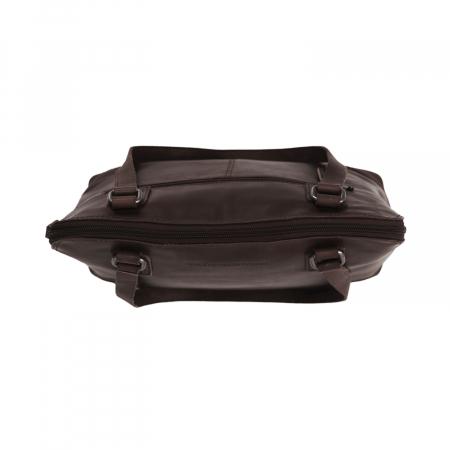 Geanta de laptop din piele naturala, The Chesterfield Brand, Manon, 14 inch, Negru [7]