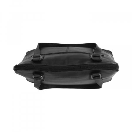 Geanta de laptop din piele naturala, The Chesterfield Brand, Manon, 14 inch, Negru [2]