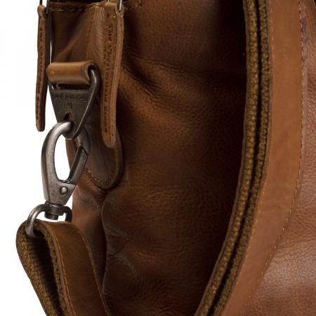 Geanta de laptop din piele naturala, The Chesterfield Brand, Stephanie, 15.4 inch, Maro coniac [4]