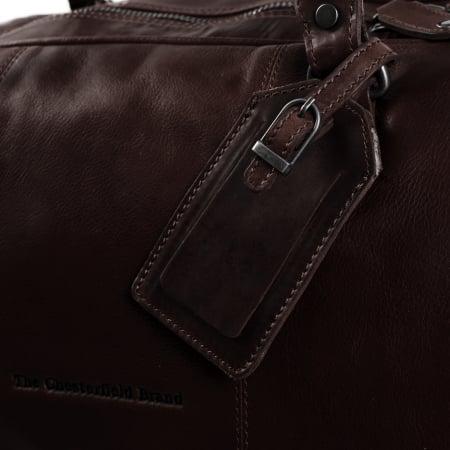 Geanta de voiaj unisex The Chesterfield Brand, din piele moale maro, William [4]