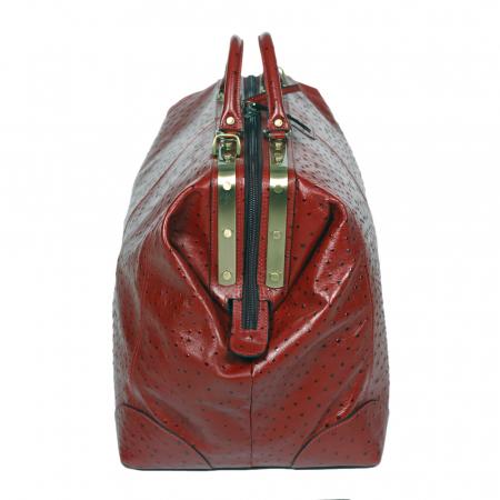 Geanta mare de calatorie din piele naturala bordo Tony Bellucci, T5012 model [3]