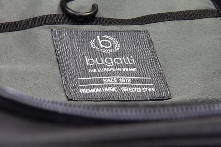 Geanta pentru cosmetice Bugatti Contratempo, neagra, cu maner si agatatoare metalica, pentru barbati [1]