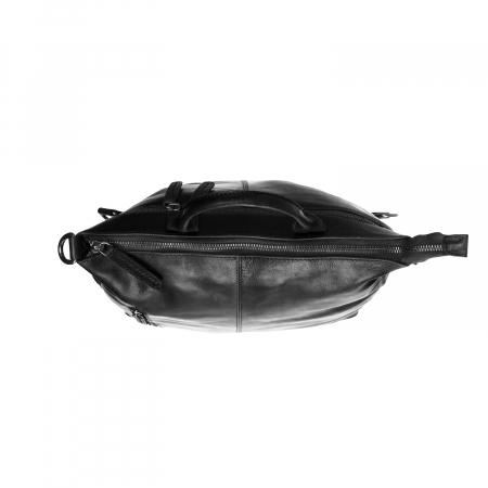Geanta/rucsac pentru laptop, The Chesterfield Brand, din piele neagra, model Nuri [4]