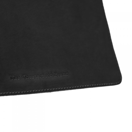 Mouse Pad din piele naturala, The Chesterfield Brand, in cutie cadou Deluxe, Negru [2]
