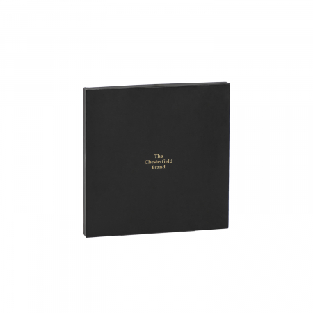 Mouse Pad din piele naturala, The Chesterfield Brand, in cutie cadou, maro coniac [4]