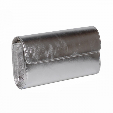 Plic argintiu din piele naturala model 07 [0]